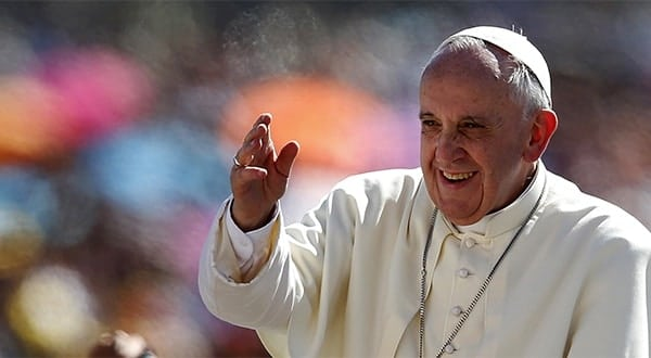La Joie de l'Amour, l'exhortation apostolique post-synodale du pape François.