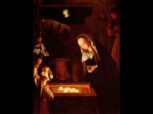 L'œuvre du mois : La Nativité par Geertgen tot Sint Jans