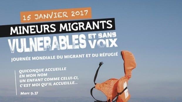Visuel journée mondiale du migrant et du réfugié
