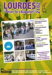 Affiches Pèlerinages à Lourdes