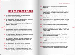 Les 20 propositions des Apprentis d'Auteuil