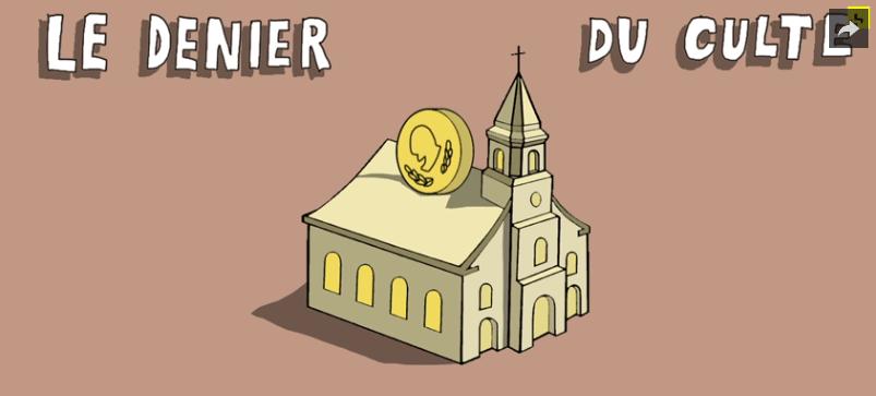 Une vidéo pour tout comprendre du denier de l'Église…