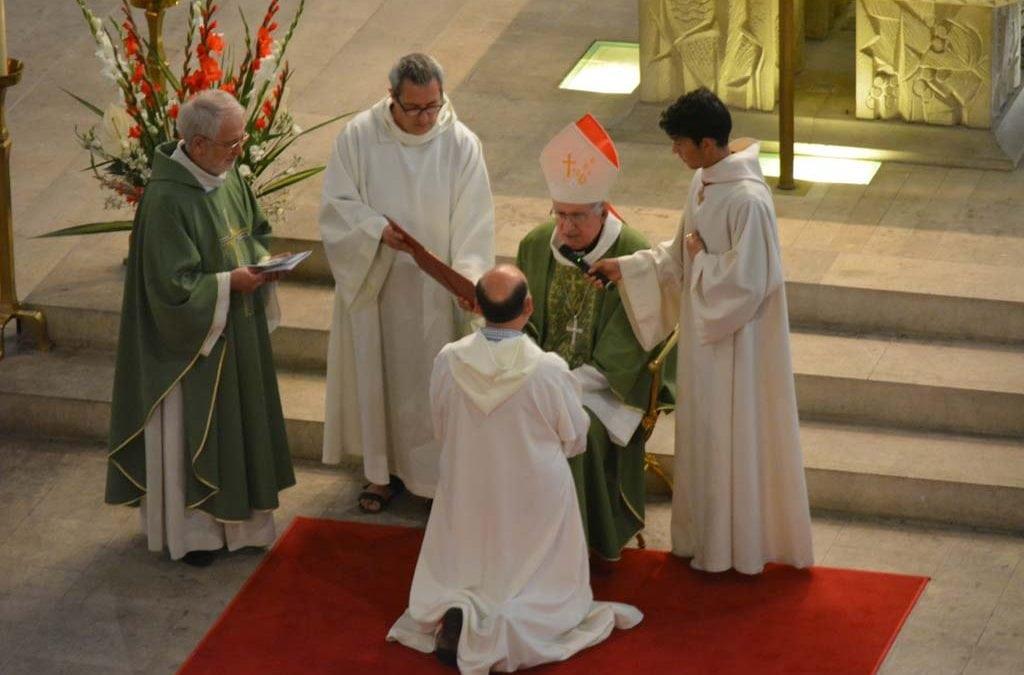 Ordination diaconale en photos