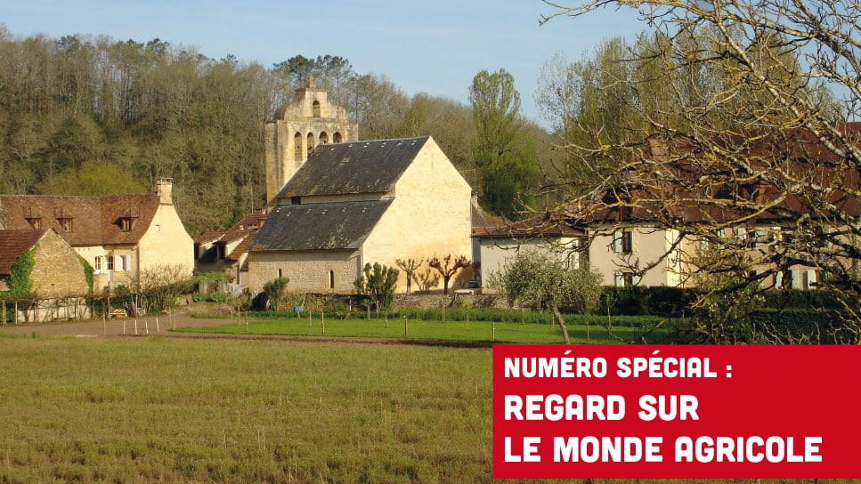 Téléchargez notre bulletin diocésain consacré au monde agricole