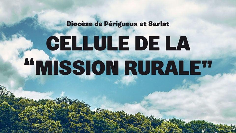 Une brochure pour présenter la Mission Rurale
