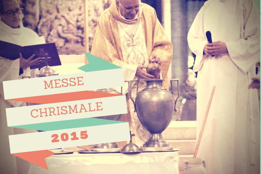 La messe Chrismale en quelques photos