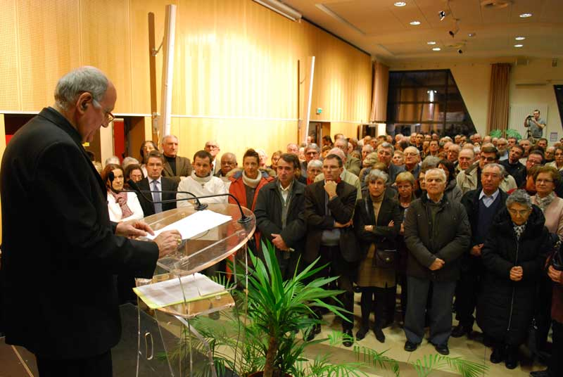 Texte des vœux de Mgr Philippe Mousset