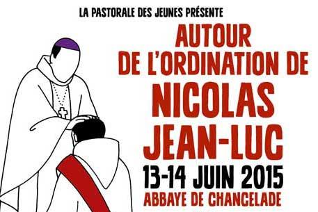 Ordination de Nicolas Jean-Luc : un week-end spécial pour les jeunes !