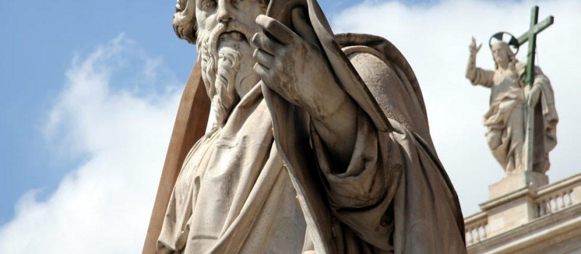 Statue de St Paul