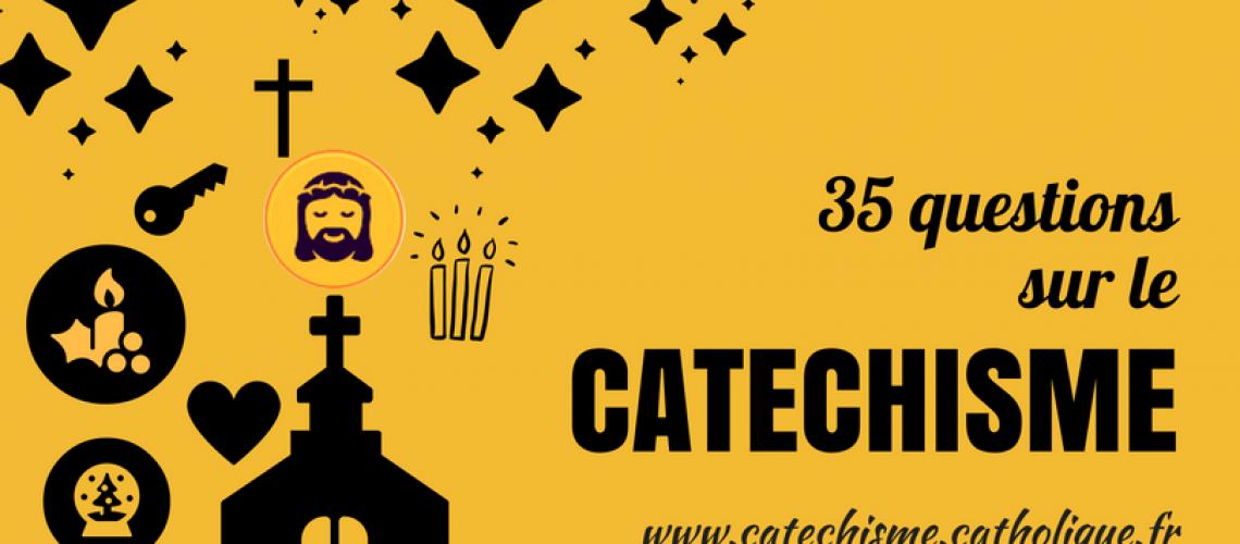 Visuel d'un site sur le catéchisme