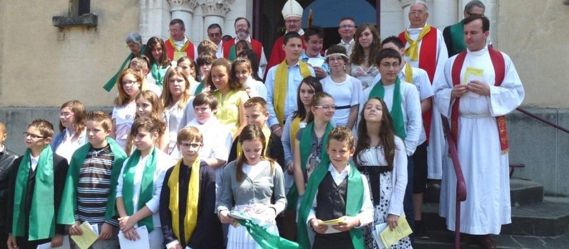 Pentecôte 2012  avec les jeunes confirmés OK