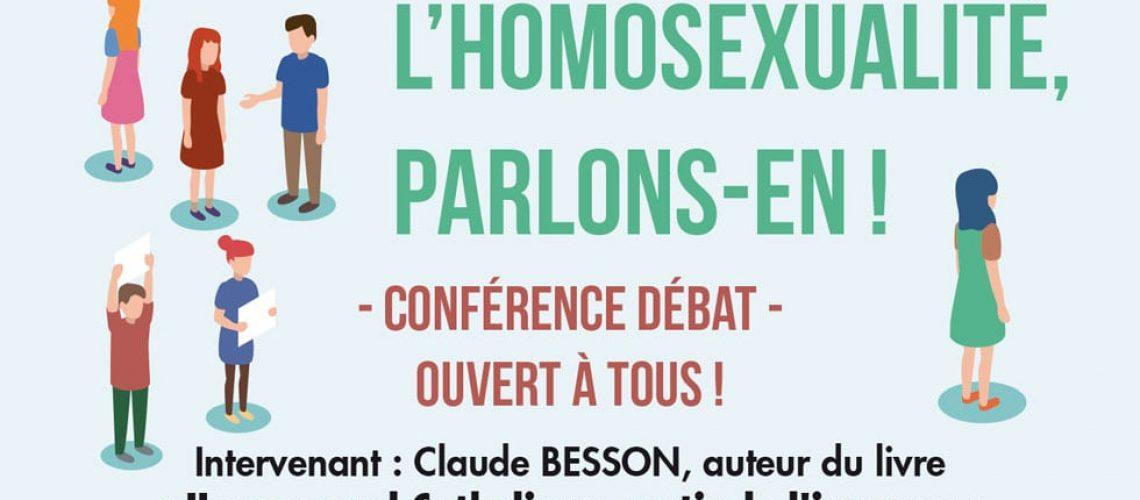 En-tête pour la conférence sur l'homosexualité