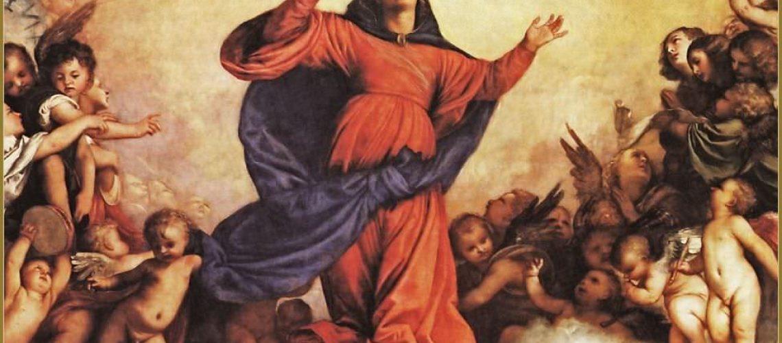 Titien assomption de la Vierge