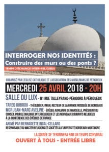 Affiche renontre interreligieuse