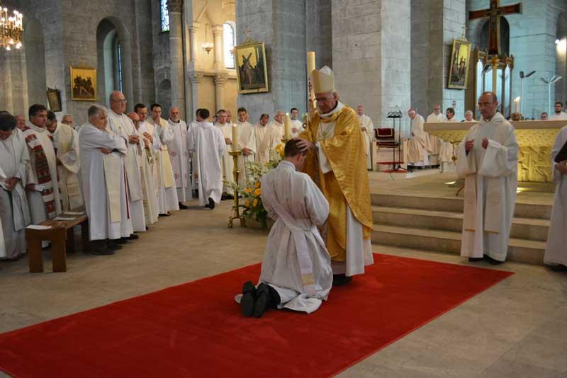 Photos de l'ordination de Nicolas Jean-Luc